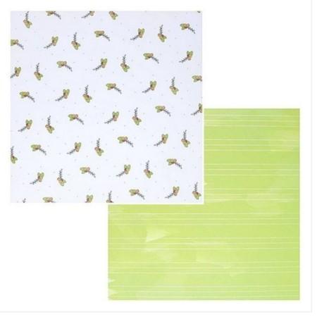 Bloco de papel coleçao Botonical Garden - 24 folhas