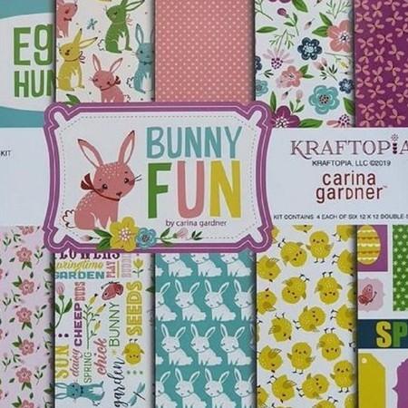 Bloco de Papel Coleção Bunny Fun - 24 folhas