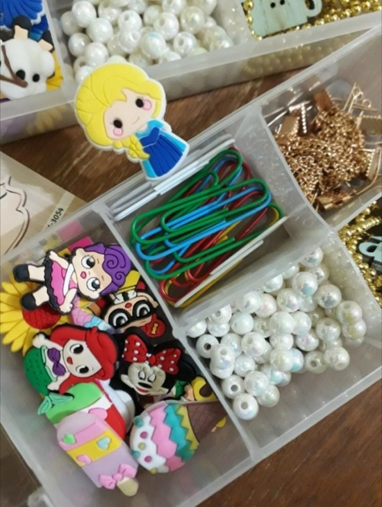 Box Fofuras - apliques e acessórios luxo