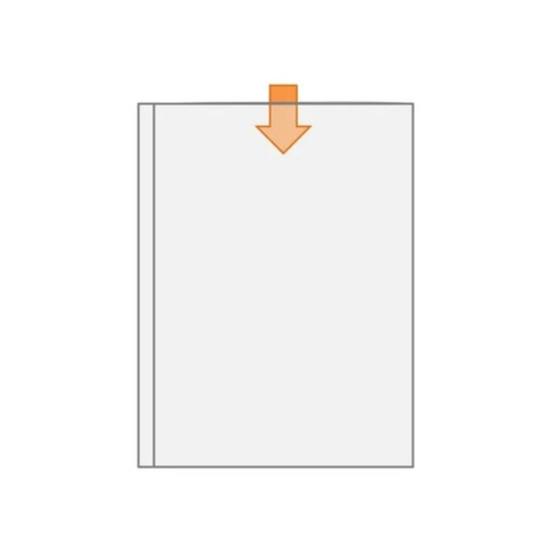 Canguru Cristal 14x20cm Para Encadernação
