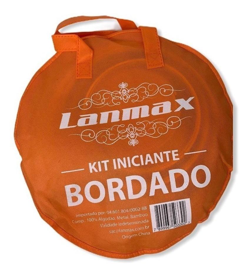 Kit Bordado para Iniciante COMPLETO