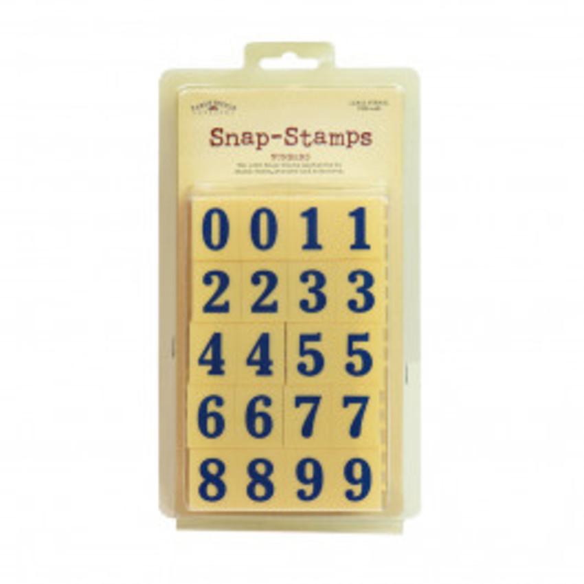 kit Carimbos Numeros MINI - Karen Foster Stamps
