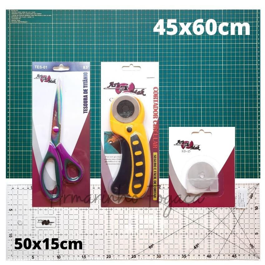 Kit Premium Base Verde 45x60cm