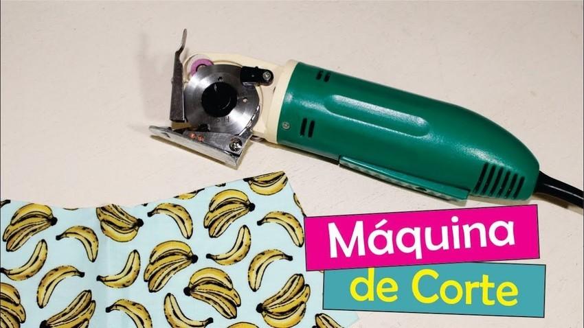 Máquina De Cortar Tecido Bananinha 2,0 Polegadas