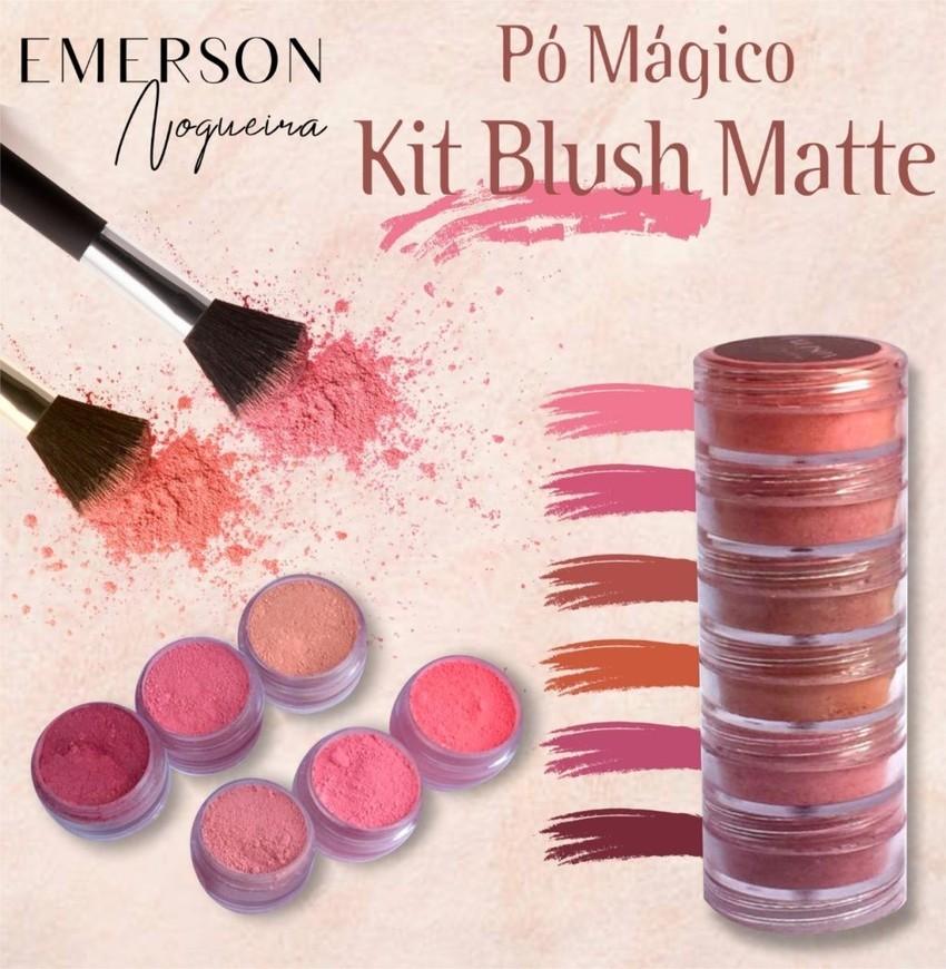 Pó magico - Blush Matte - Emerson Nogueira