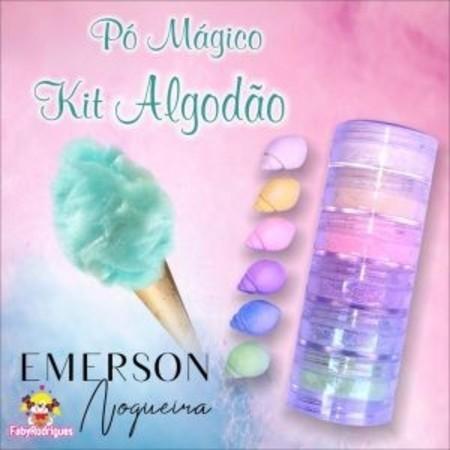 Pó magico Kit Algodão Doce - Emerson Nogueira