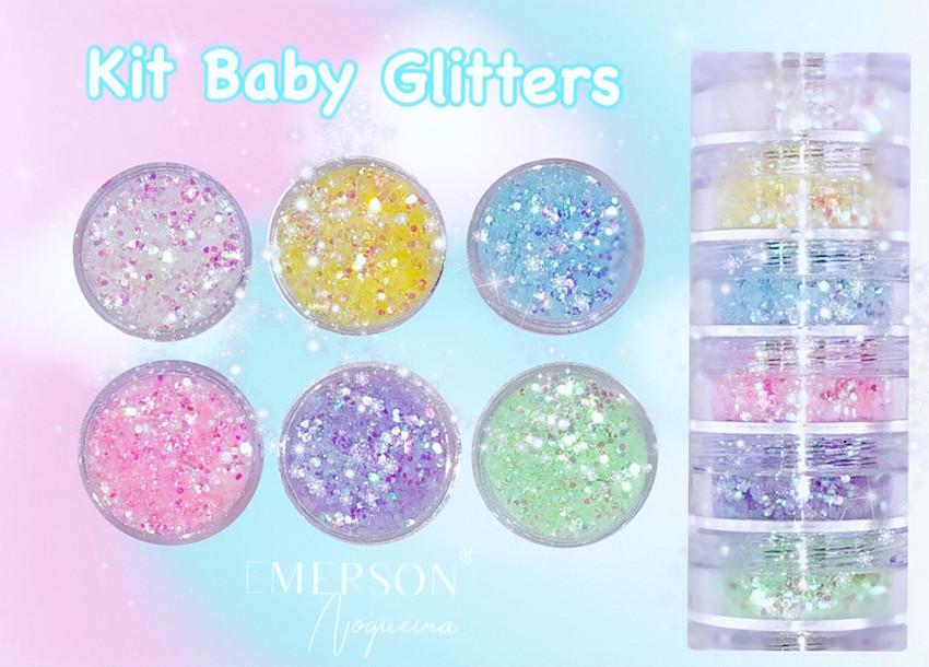 Pó magico Kit Baby Glitters - Emerson Nogueira