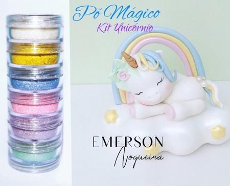 Pó Magico - kit Unicórnio - Emerson Nogueira
