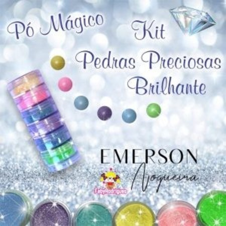 Pó magico Pedras Preciosas Brilhante - Emerson Nogueira