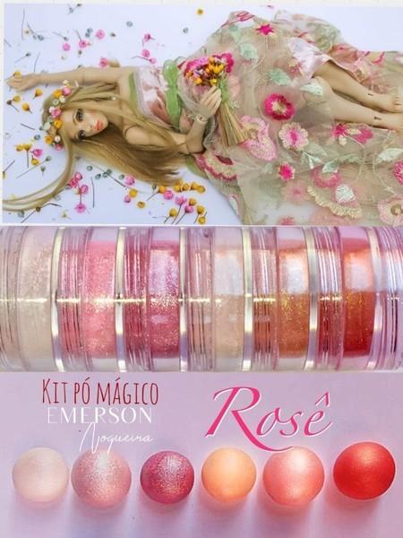 Pó magico - Rose - Emerson Nogueira