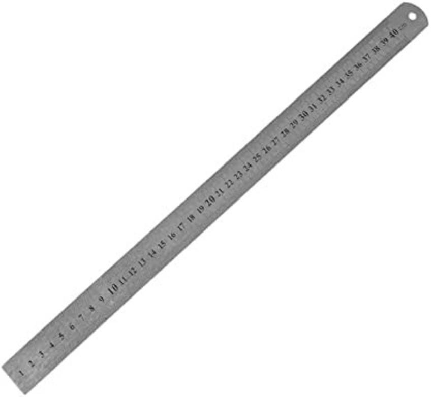 Régua de alumínio 40cm
