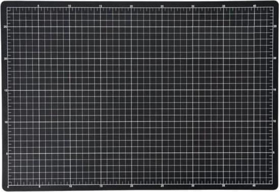Tabua de corte dupla face Preta - 45x60