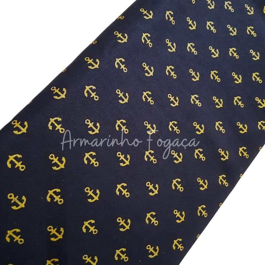 Tecido 100% algodão - 50x75cm - Marinheiro Black Gold