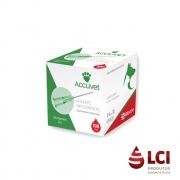 Agulha Descartável 25x8  (Verde) C/100 Accuvet