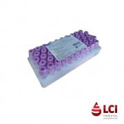 Microtubo a Vácuo EDTA com 50 unidades