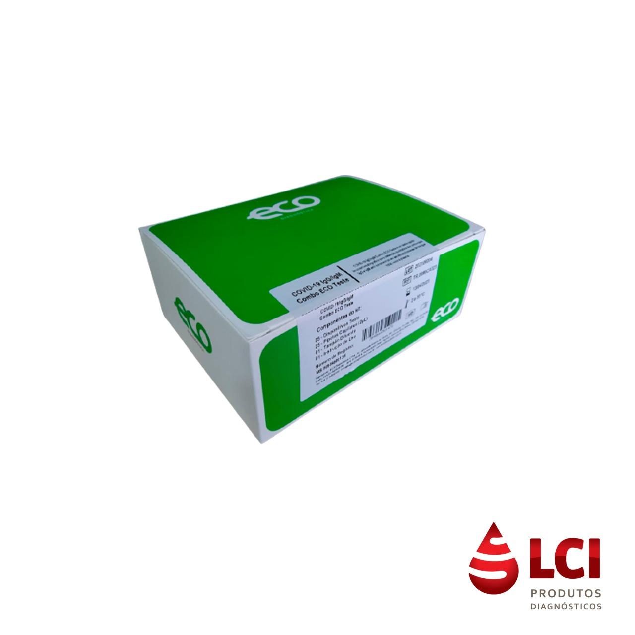 Covid IgG/IgM com 25 testes