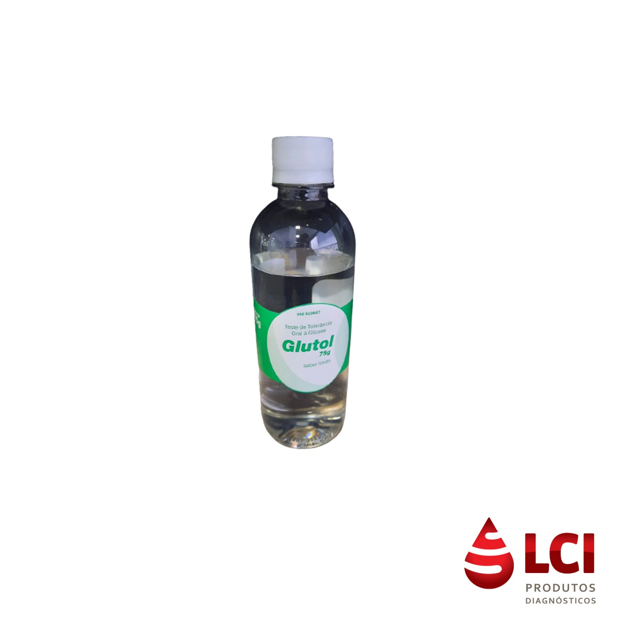 Glutol Curva Glicêmica 75g 300ml Limão c/50 unidades