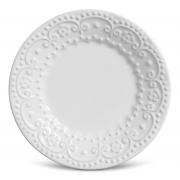 Prato de sobremesa Esparta branco