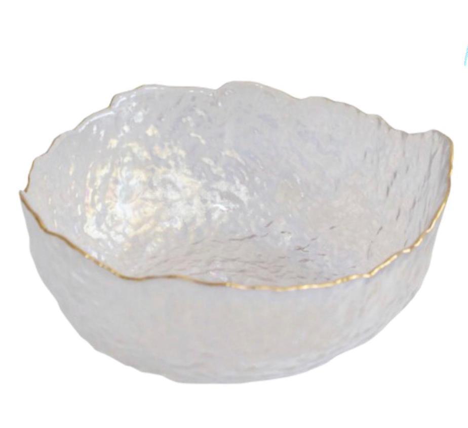 BOWL RUSTIC GOLD FURTA COR M BRISA 17X17X8 CM