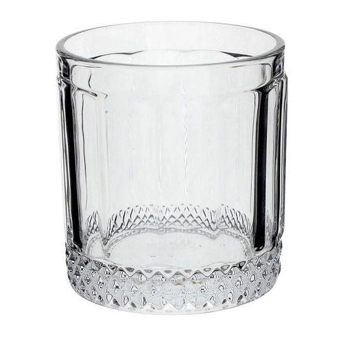 Jogo de 6 copos baixos Splendor em Vidro 320ml A9cm