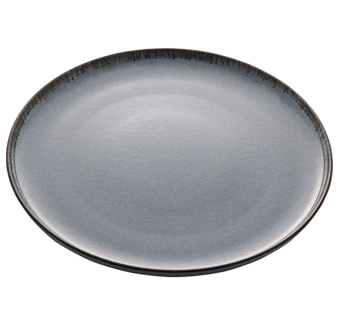 Prato de Sobremesa Reactive Azul 19cm