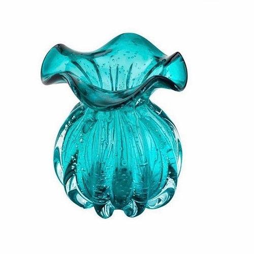 Vaso de Vidro ITALY Tiffany 10X11CM