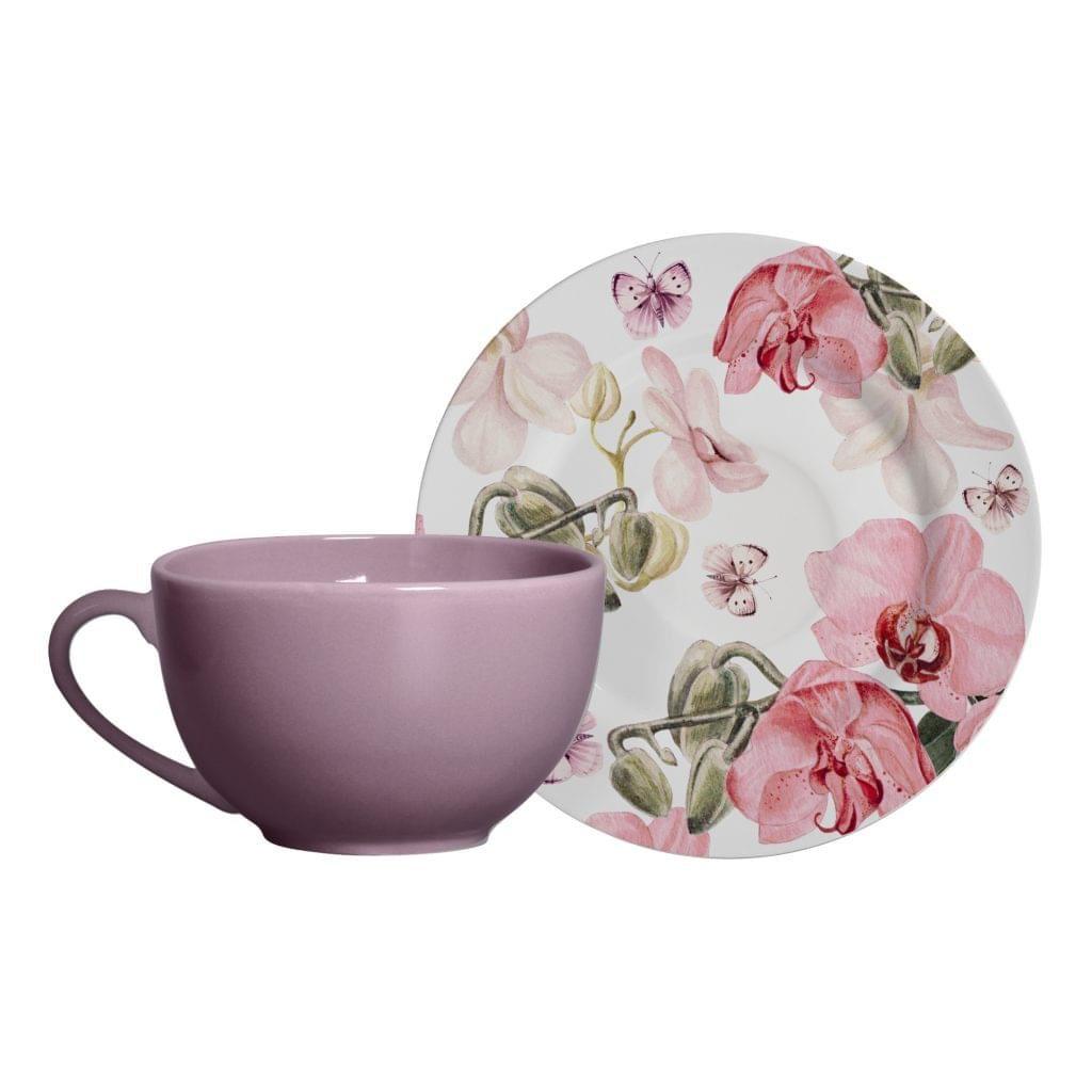 Xícara de Chá Com Pires Encanto