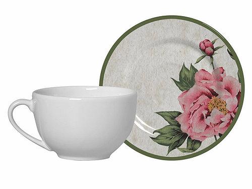 Xícara de chá Peonia