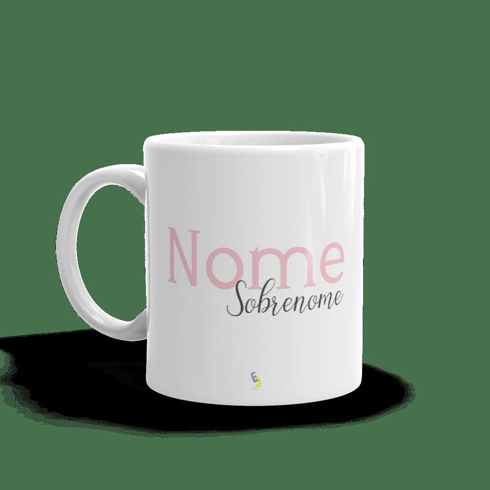 CANECA COM NOME E SOBRENOME