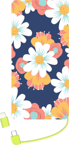 POWER BANK FLORAL