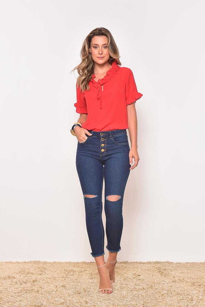 Calça Jeans Cut