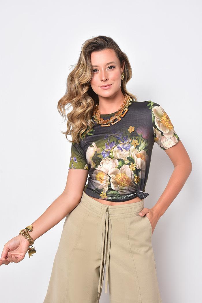 T-shirt Print Flower