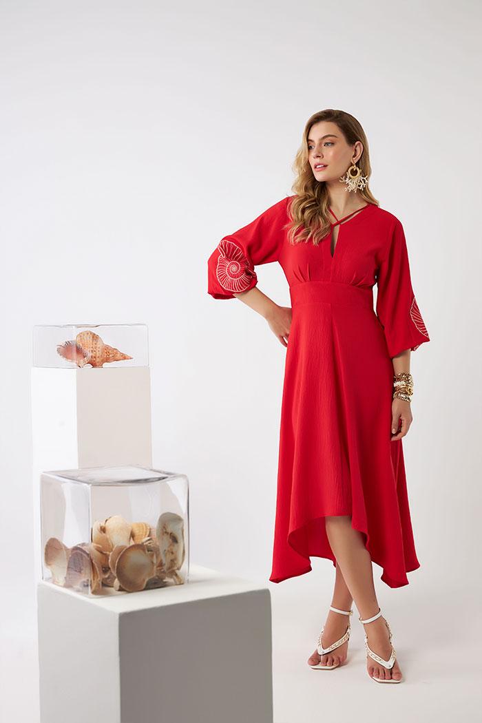 Vestido Midi Infinito