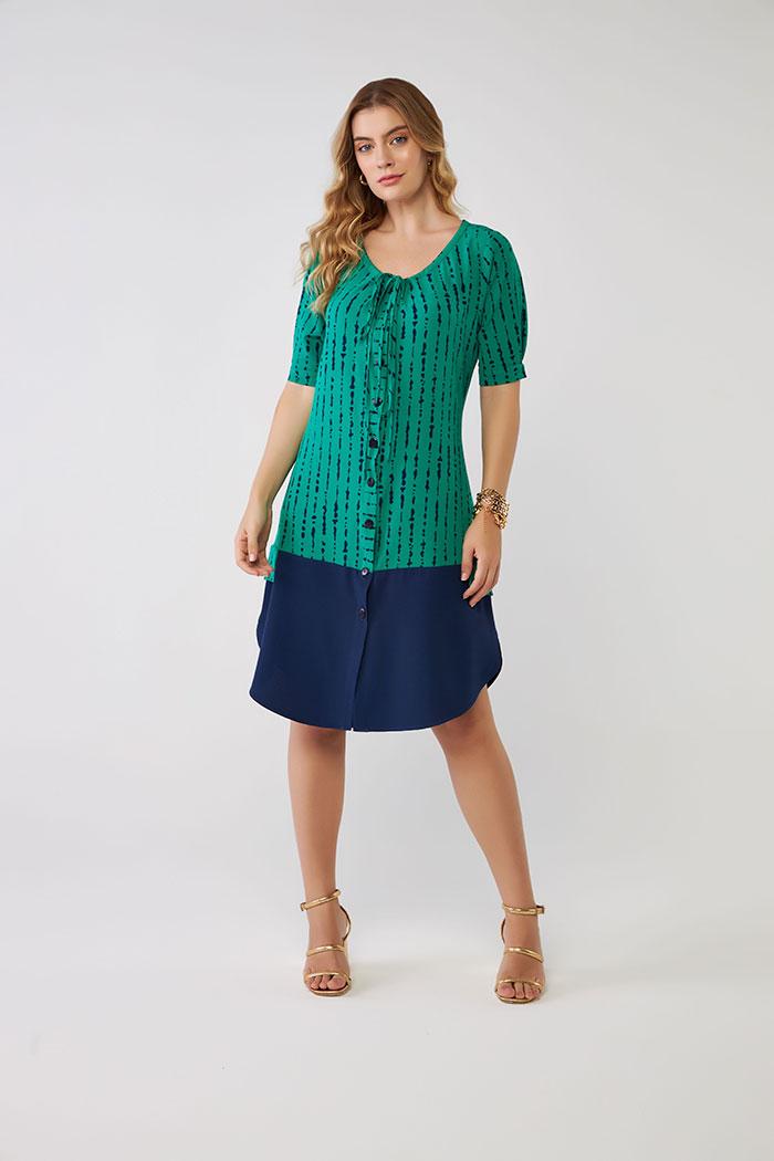Vestido Midi Print