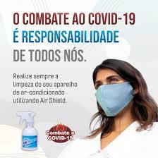 BACTERICIDA BIODEGRADAVEL PARA AR CONDICIONADO AIRSHIELD 1 LITRO
