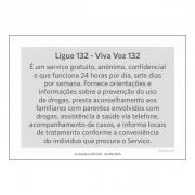 Lei Estadual RJ7013 - A4 - Acrílico