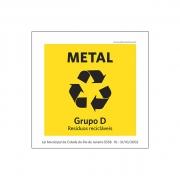 Lei Municipal RJ5538 - Coleta Seletiva_ Metal - Acrílico