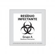 Lei Municipal RJ5538_Lixo Extraordinário_Res.Infectante - Acrílico
