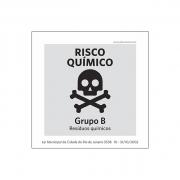 Lei Municipal RJ5538_Lixo Extraordinário_Risco Químico - Acrílico