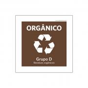 Placa Coleta Seletiva - Orgânicos - PS