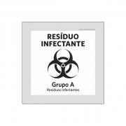 Placa Coleta Seletiva - Resíduo Infectante - PS