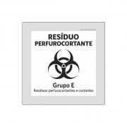 Placa Coleta Seletiva - Resíduo Perfurocortante - PS
