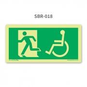 Placa de Escape à Esquerda - PcD - SBR 018