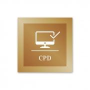 Placa para CPD - 14 X 14 cm - Ouro Velho