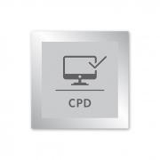 Placa para CPD - 14 X 14 cm - Prata
