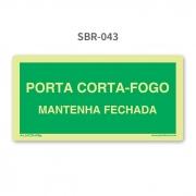 Porta Corta-Fogo - SBR-043