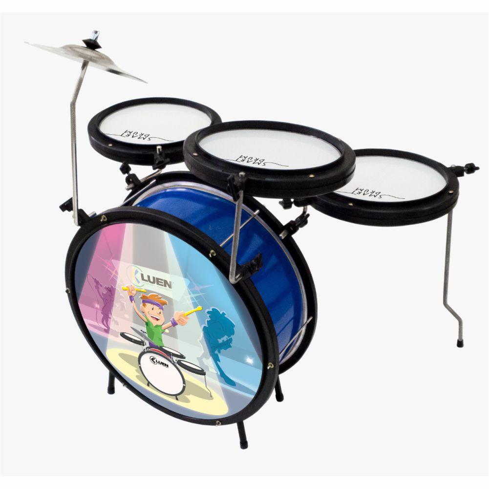 Bateria Luen Smart Drum Infantil