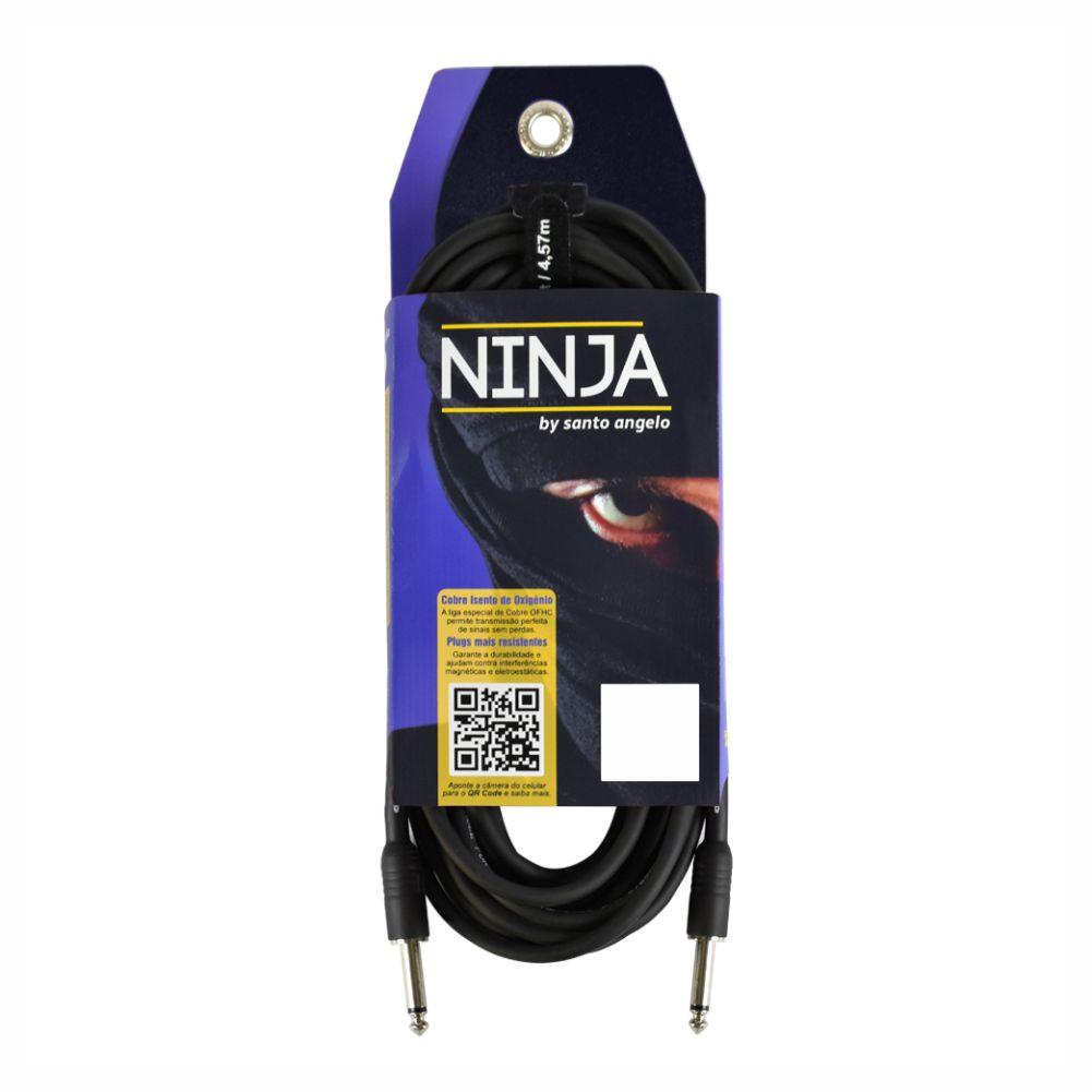 Cabo Santo Angelo Ninja 15ft P10 para instrumentos - 4,57m