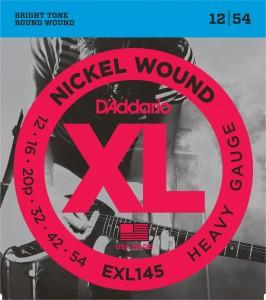 Encordoamento D'Addario EXL145 012 para Guitarra