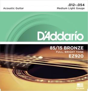 Encordoamento D'Addario EZ920 012 para Violão Aço